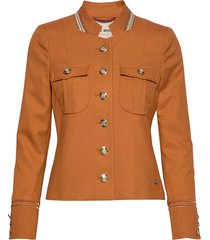 selby twiggy jacket blazer kavaj orange mos mosh