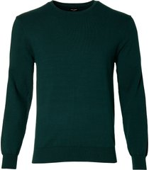 city line by nils pullover - slim fit - groen