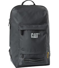 mochila negra cat verso