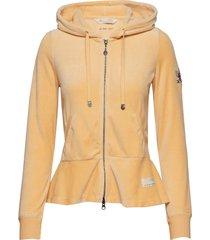 hygge jacket hoodie trui geel odd molly