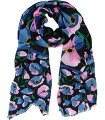 kate spade new york bold poppy oblong scarf