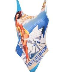 bini como one-piece swimsuits