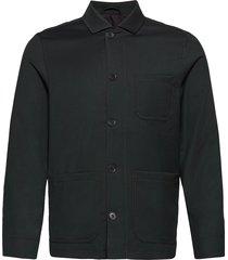 m. louis gabardine jacket overshirts groen filippa k