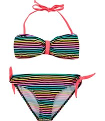 boobs & bloomers stripe bikini janne roze