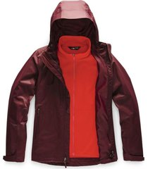 chaqueta arrowood triclimate rojo the north face