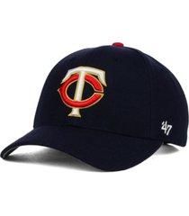 '47 brand minnesota twins mvp curved cap