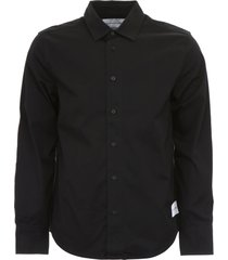 calvin klein jeans worker shirt with print