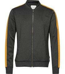 hermité track jacket sweat-shirt trui grijs les deux