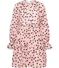 ivana, 1012 meadow organza kort klänning rosa stine goya