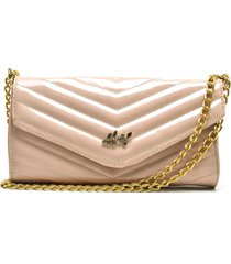bolsa carteira transversal ellas online rosa