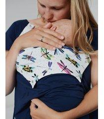 sukienka do porodu ważki short