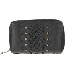 billetera calados negro humana