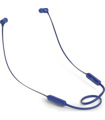 audifonos bluetooth jbl t110 in-ear - azul