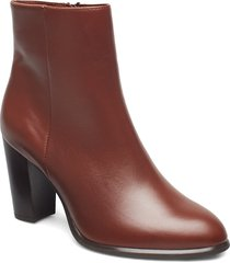 ugo_ne shoes boots ankle boots ankle boots with heel brun unisa