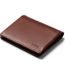 men's bellroy slim sleeve wallet - brown