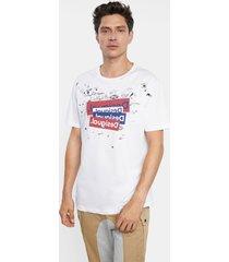 basic t-shirt logo and bolimania - white - xxl