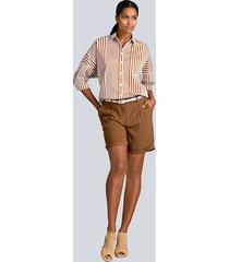 shorts alba moda konjak