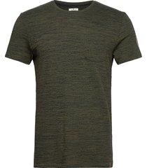 multicolor b t-shirts short-sleeved grön tom tailor