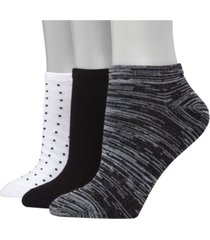 hanes women's 3-pk. ultimate comfortsoft low-cut socks