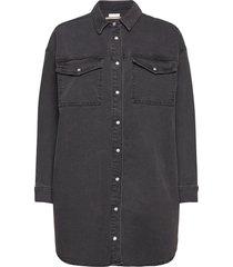 2nd wayne thinktwice overhemd met lange mouwen zwart 2ndday