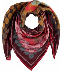 fraas patchwork dots scarf