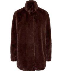fuskpäls vmthea 3/4 faux fur jacket col