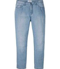 jeans con tencel™ e lino regular fit straight (blu) - john baner jeanswear