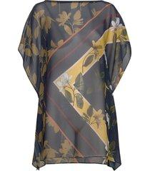 oraciee blouses short-sleeved multi/mönstrad ted baker