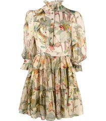 etro cotton and silk dress