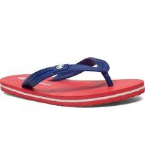 flip flop slipper big classic evo shoes summer shoes flip flops röd champion