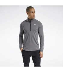 sweater reebok sport activchill+cotton quarter-zip top