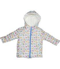 chaqueta acolchada multicolor poussin jackets aviones