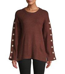 long raglan-sleeve sweater