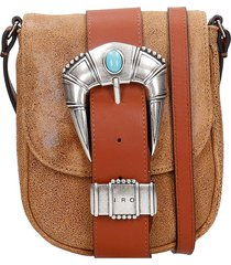iro lemmy shoulder bag in leather color leather