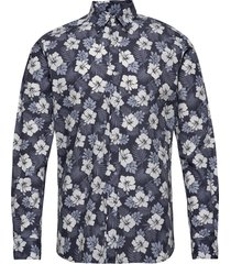 oliver classic collar shirt overhemd casual blauw morris