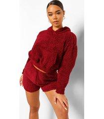 nepwollen oversized hoodie, berry