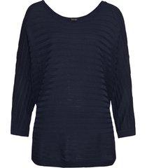 maglione traforato (blu) - bodyflirt