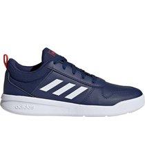 zapatilla azul adidas tensaur k
