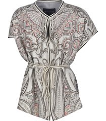 etro fantasia kimono gilet