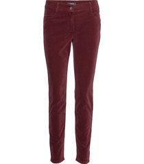 leisure trousers lon byxa med raka ben röd taifun