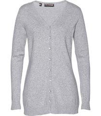 cardigan lungo (grigio) - bpc selection