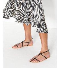 nly shoes thin multi strap sandal sandaler
