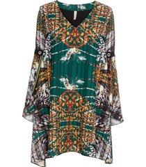 abito in chiffon (verde) - bodyflirt boutique