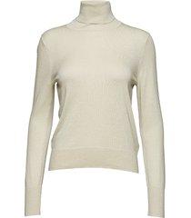 lurex roller neck sweater turtleneck coltrui crème filippa k