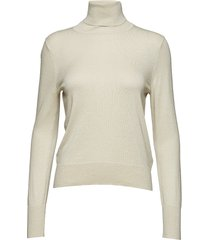 lurex roller neck sweater turtleneck coltrui crème filippa k