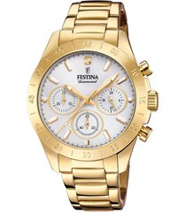 reloj boyfriend collection dorado festina