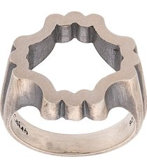 m. cohen structured ring - metallic
