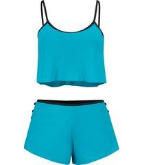 bikini a fascia (set 2 pezzi) (petrolio) - bodyflirt