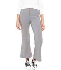 pantalón gris felisa freddie