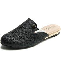slipper negro modare